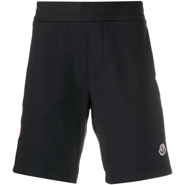 Moncler Casual Stripe Shorts (Navy)