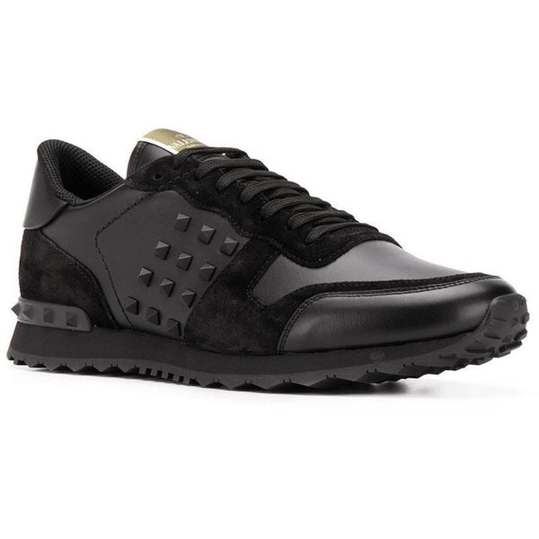 Valentino Rockrunner Trainers (Triple Black)