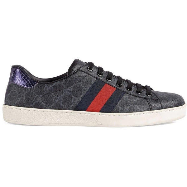 Gucci Ace GG Trainers (Black)