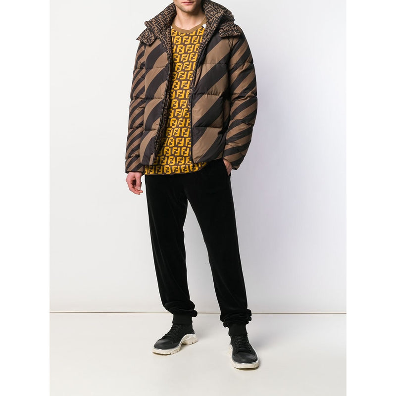 Fendi Reversible Puffer Jacket (Brown)