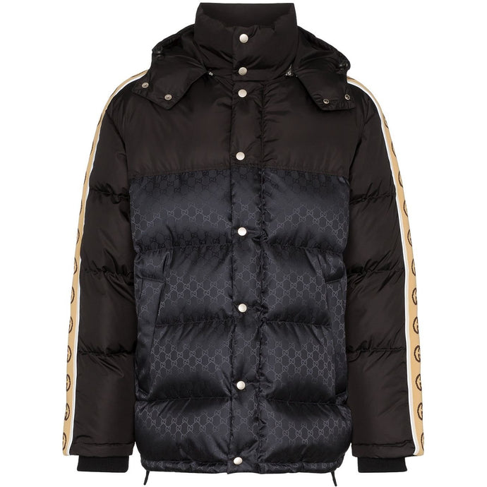 Gucci GG Stripe Jacket (Black/Beige)