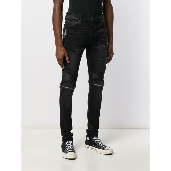 Amiri MX2 Slim-Fit Jeans (Black)