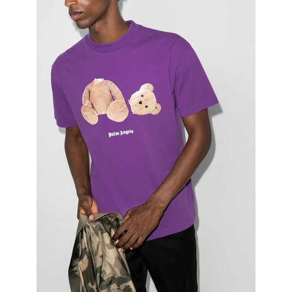 Palm Angels Kill The Bear T-shirt (Purple)