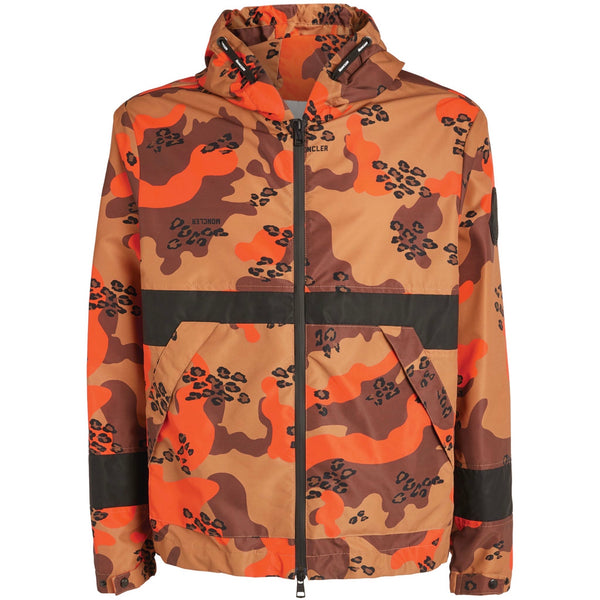 Moncler Adour Technical Jacket (Brown/Orange)