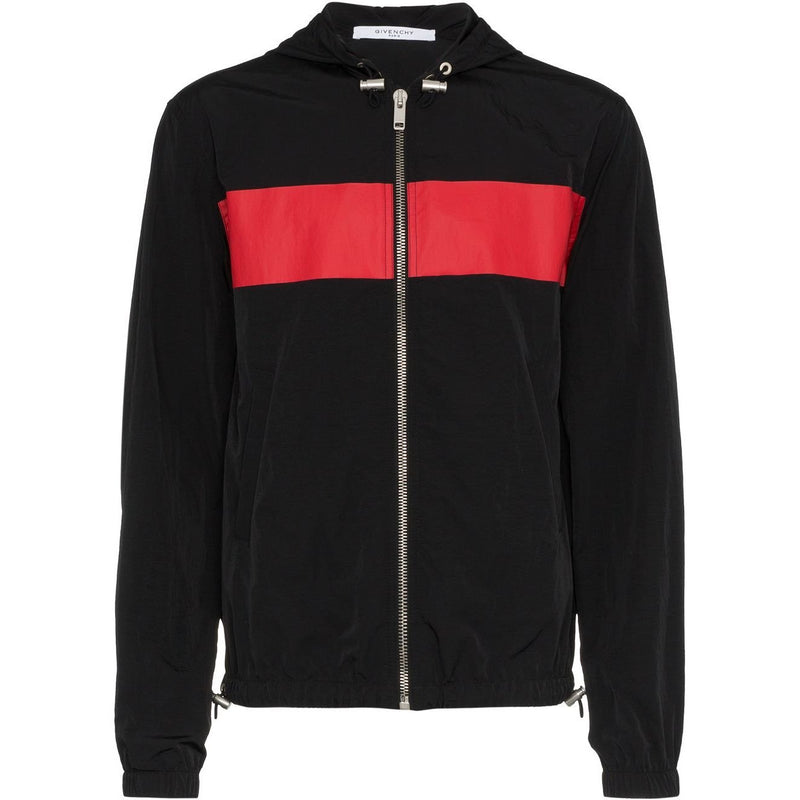 Givenchy GV Motocross Jacket (Black/Red)