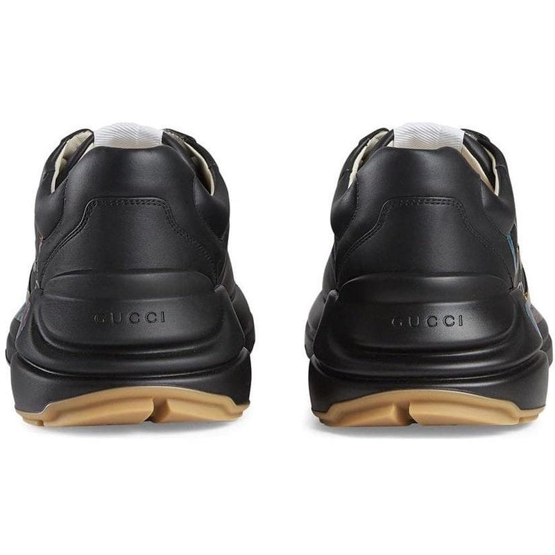 Gucci Rython Trainers (Black/Rainbow)