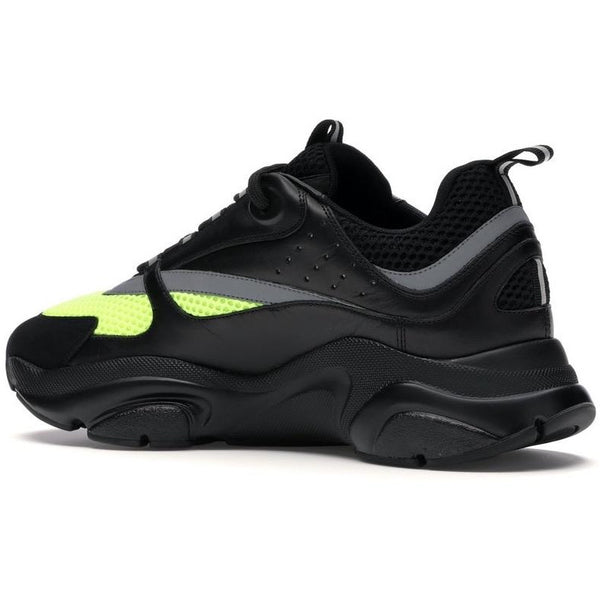 Dior B22 Reflective Trainers (Black/Neon)