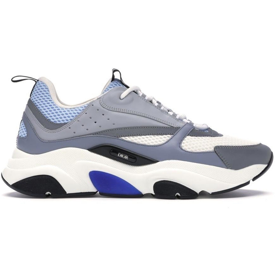 Dior B22 Reflective Trainers (Skyblue/Grey)