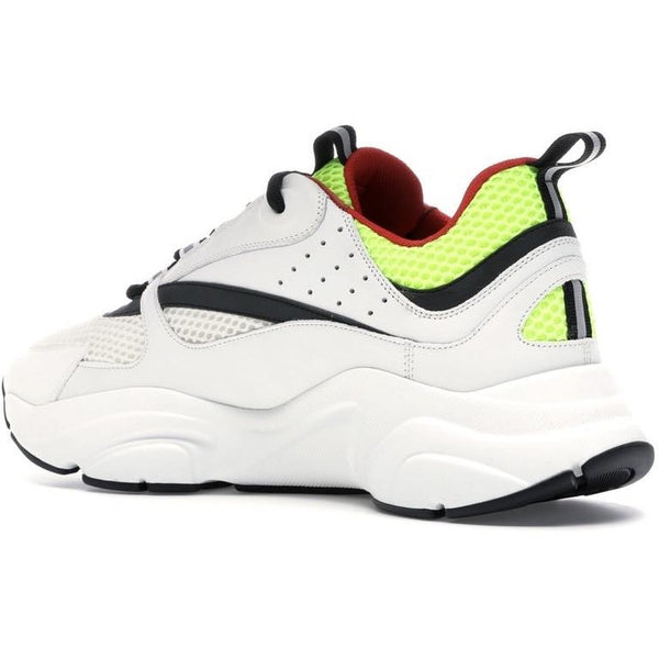Dior B22 Reflective Trainers (White/Yellow/Red)