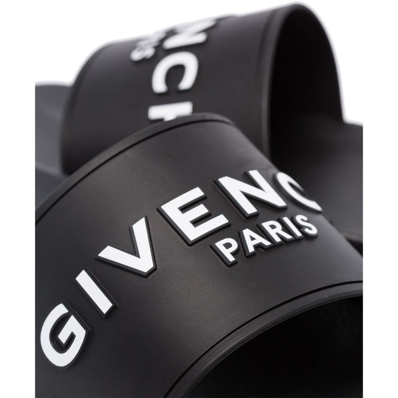 Givenchy Classic Logo Sliders (Black)