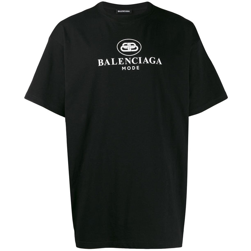 Balenciaga BB Mode T-shirt (Black)