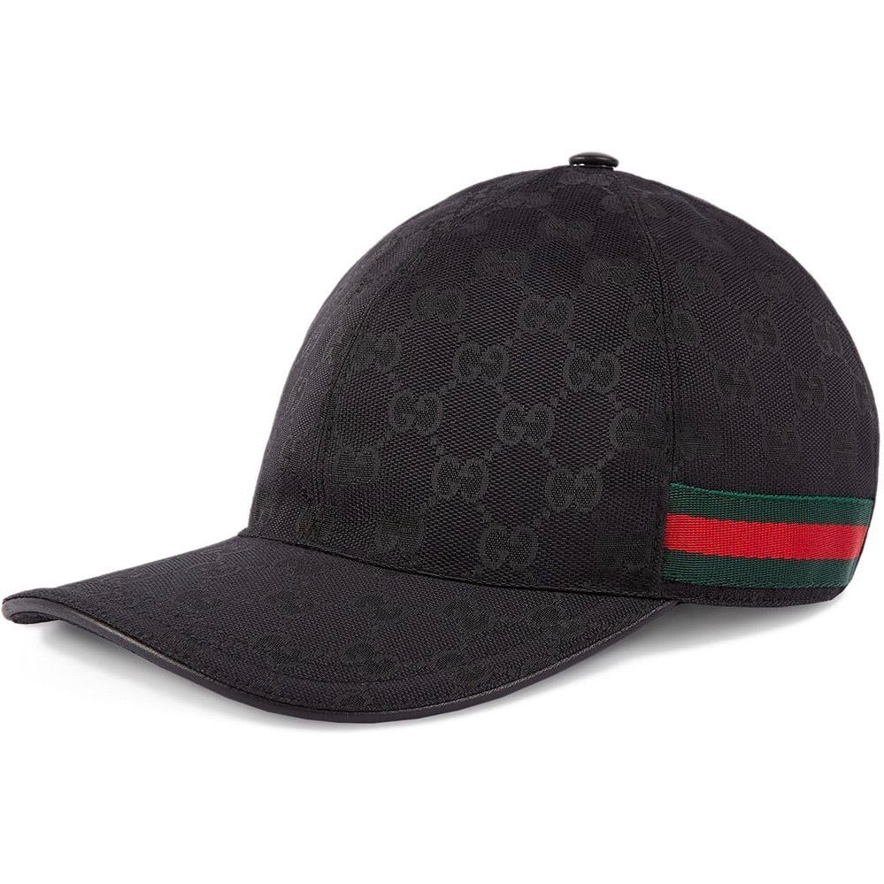 Gucci Original GG Supreme Hat (Black)
