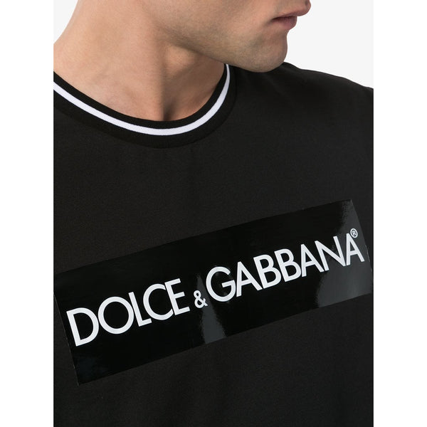 Dolce & Gabbana Tape Logo T-shirt (Black)