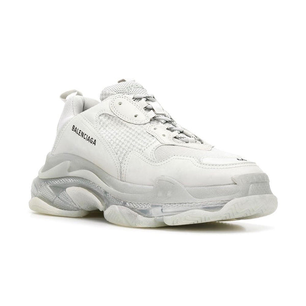 Balenciaga Triple S Clear Sole (White) - Moretti Menswear