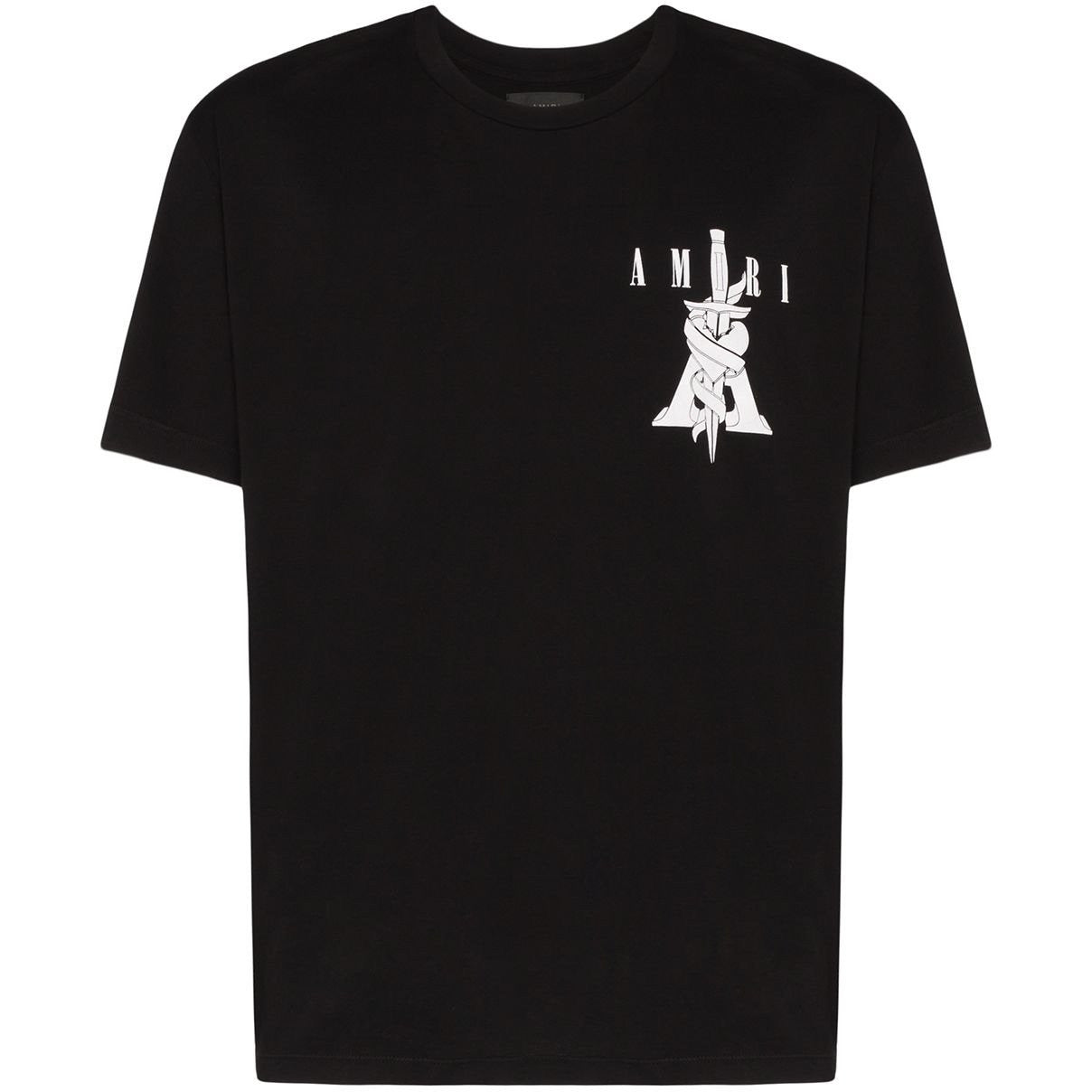 Amiri Graphic Logo Print T-shirt (Black)