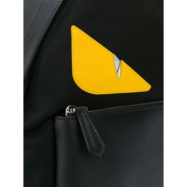 Fendi Bag Bugs Backpack (Black/Yellow)