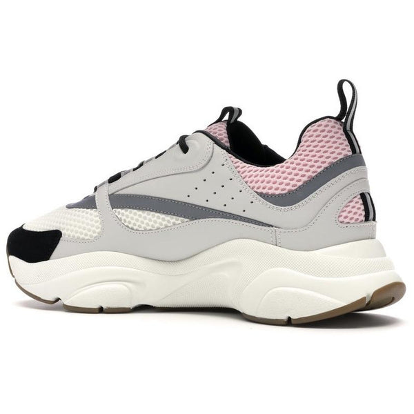 Dior B22 Reflective Trainers (Pale Pink/Grey)