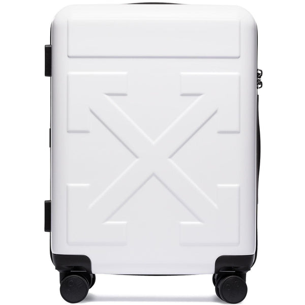 Off-White Arrows Suitcase (White)