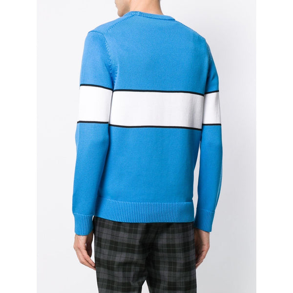 Givenchy Reverse Logo Jumper (Blue)