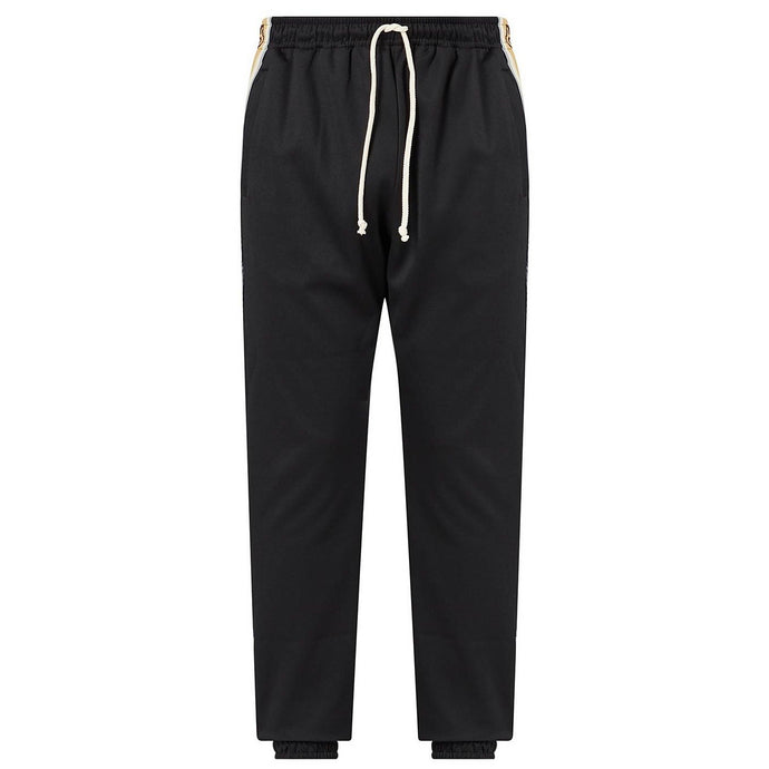 Gucci Tape Logo Tracksuit Pants (Black)