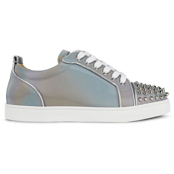 Christian Louboutin Louis Junior Spikes Orlato (Multi/Silver)