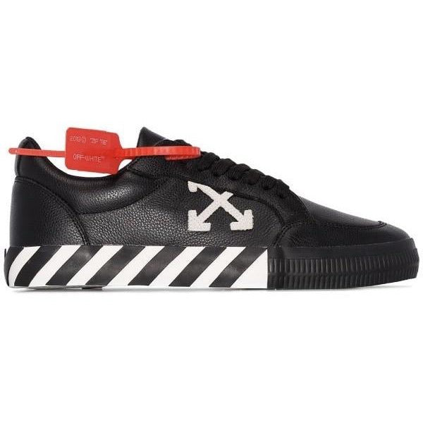 Off-White Arrow Logo Trainers (Black/White)