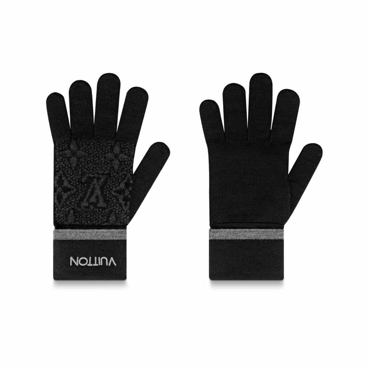 Louis Vuitton Monogram Eclipse Gloves - Moretti Menswear