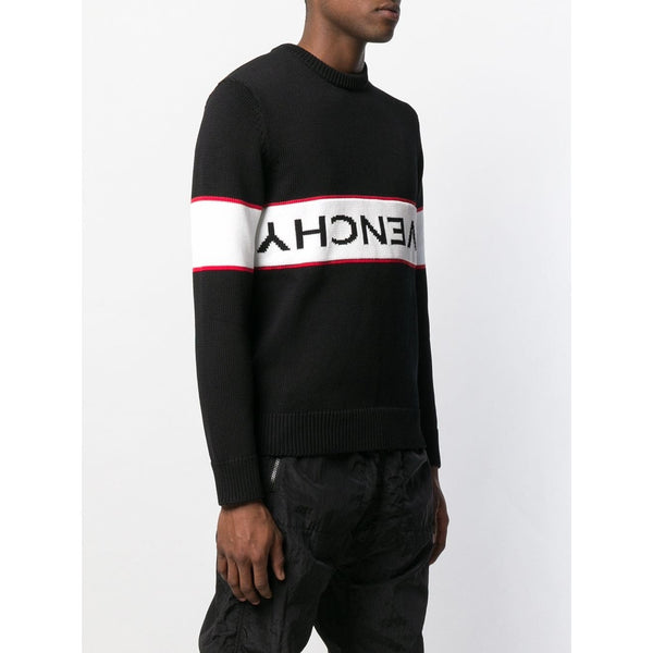 Givenchy Reverse Logo Jumper (Black)
