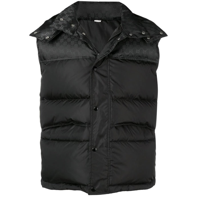Gucci GG Padded Gilet (Black)