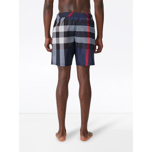 Burberry Vintage Check Shorts (Blue)
