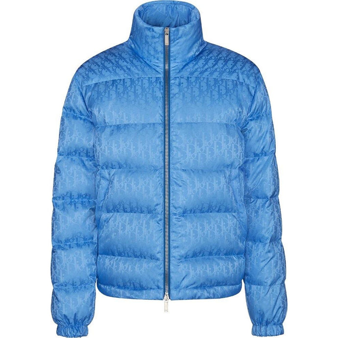 Dior Oblique Puffer Jacket (Blue)