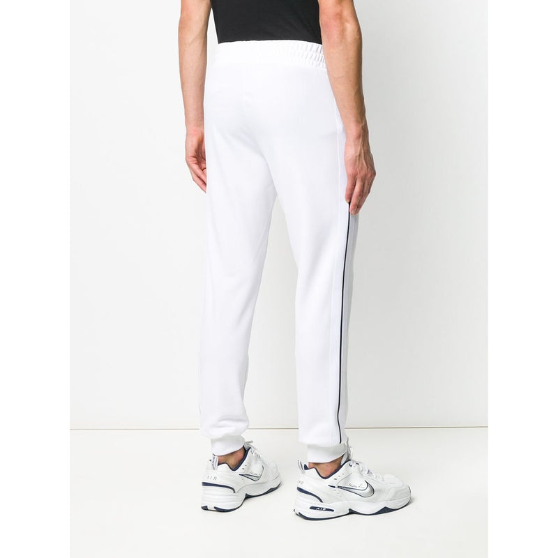 Palm Angels Cuffed Tracksuit Bottoms (White)