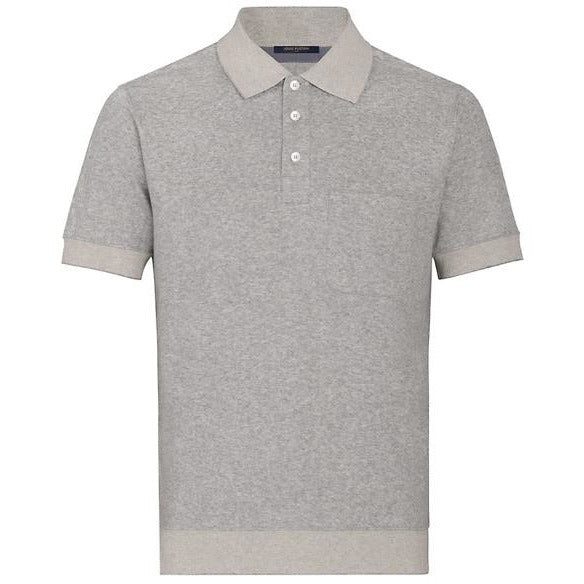 Louis Vuitton Half Monogram Polo (Grey)