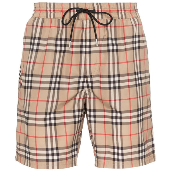 Burberry Vintage Check Swimming Shorts (Beige)