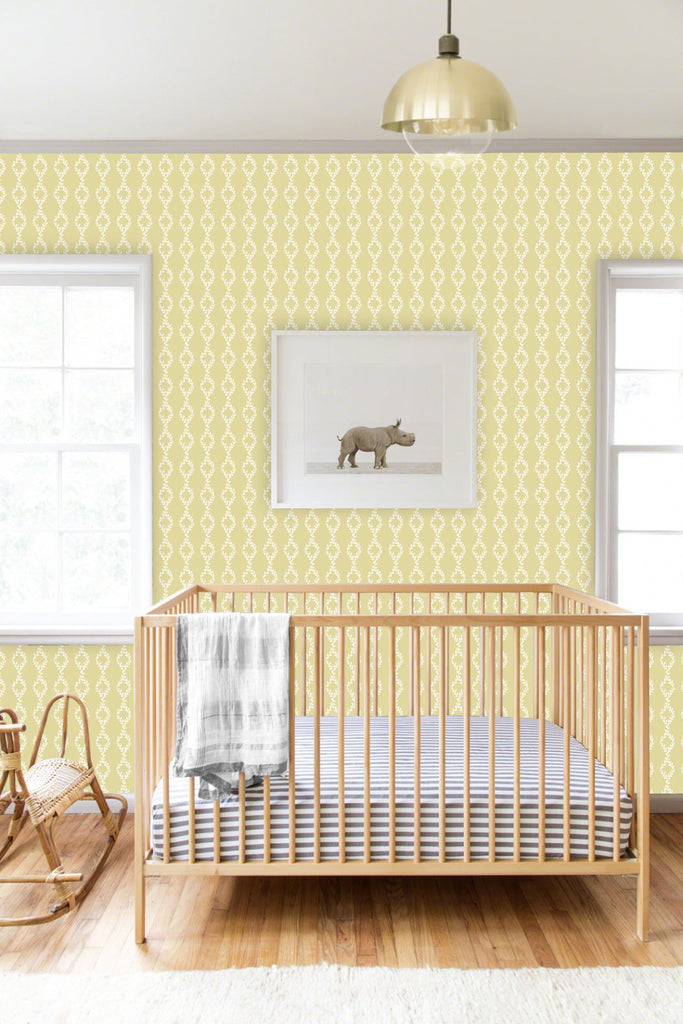 Sample Cleo Beige Self Adhesive Wallpaper