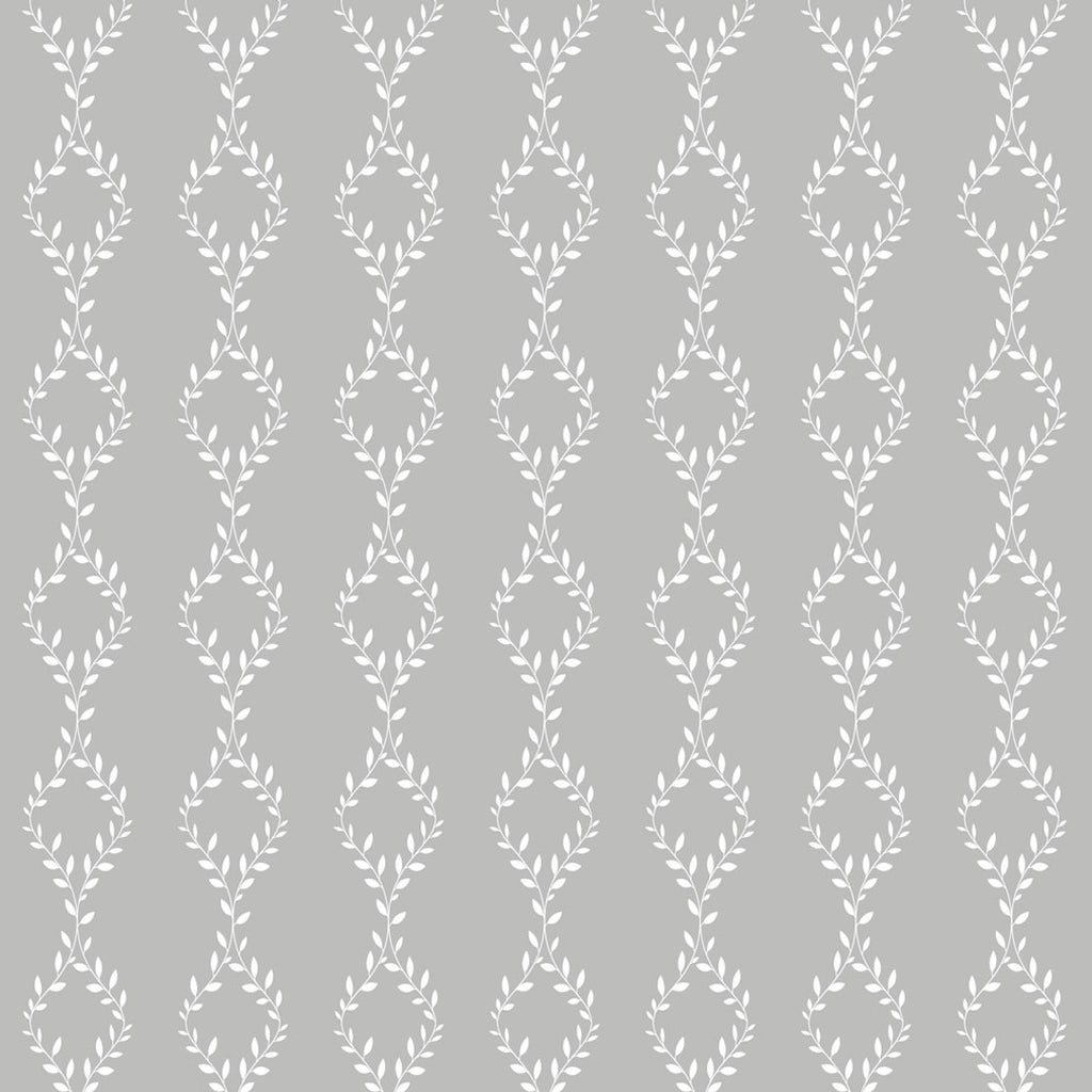 self adhesive wallpaper grey white leaves
