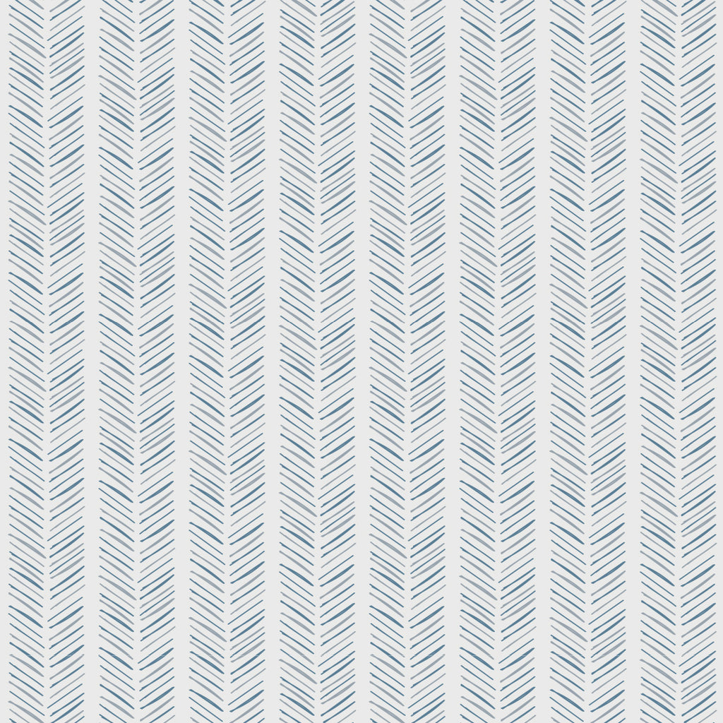 Sample Harry Blue Self Adhesive Wallpaper