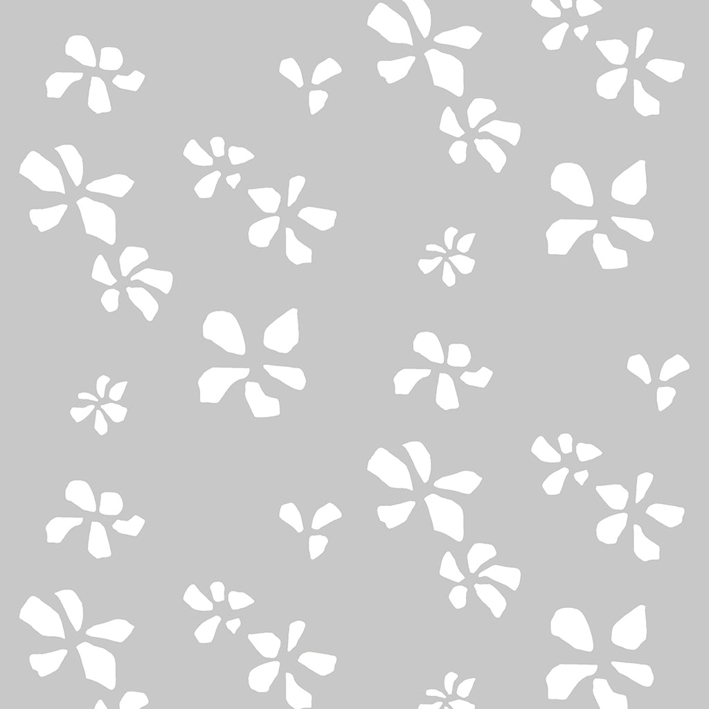 Klara Grey Self Adhesive Wallpaper