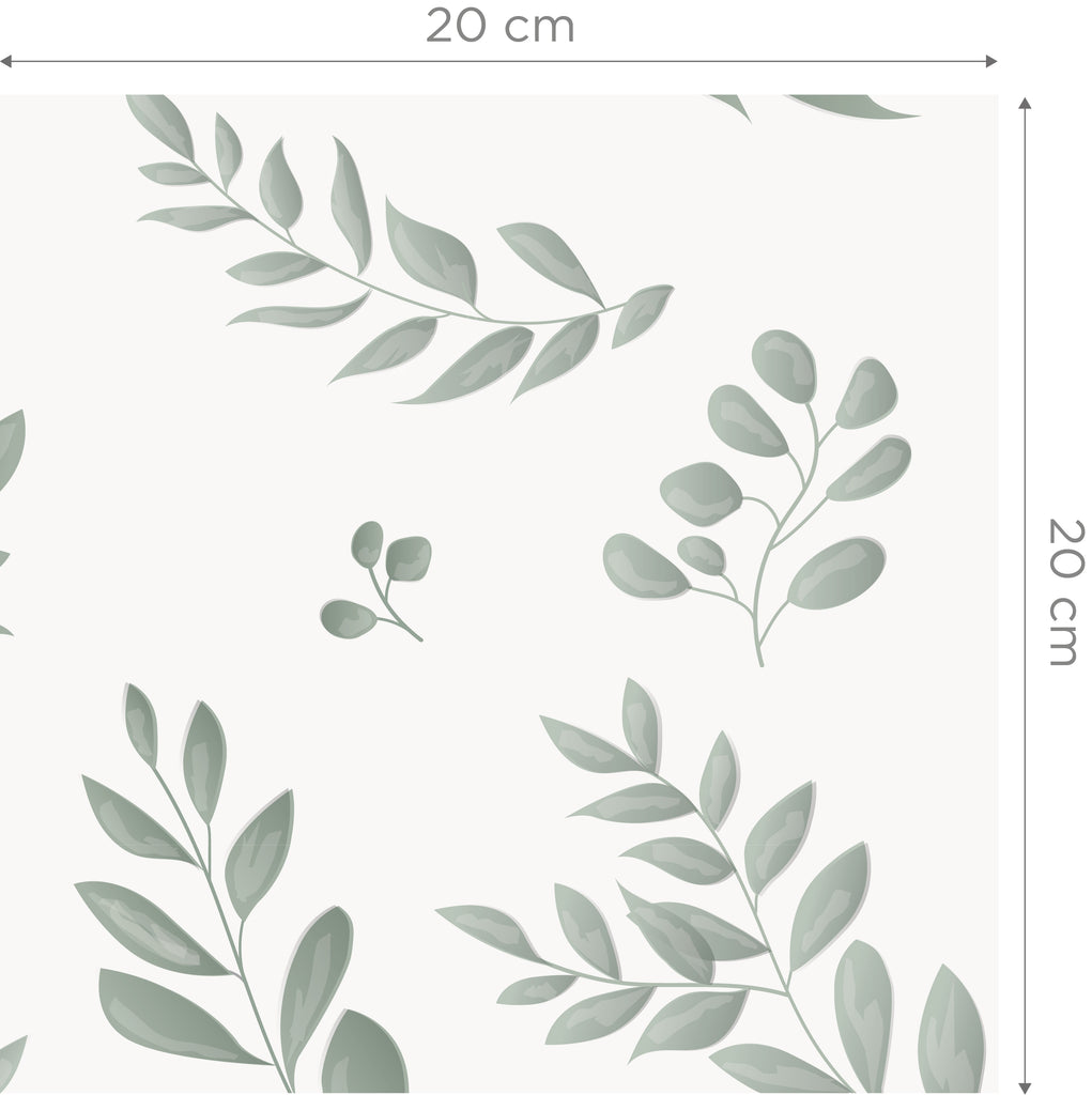 Leafy Green Self Adhesive Wallpaper