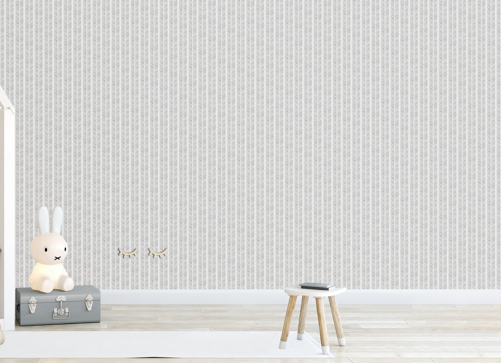 Harry Dark Grey Self Adhesive Wallpaper