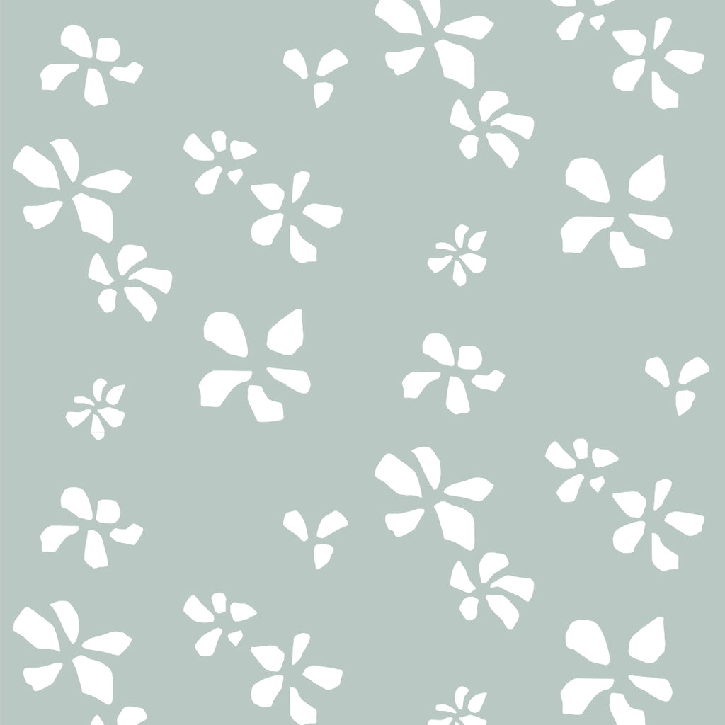 Klara Green Self Adhesive Wallpaper
