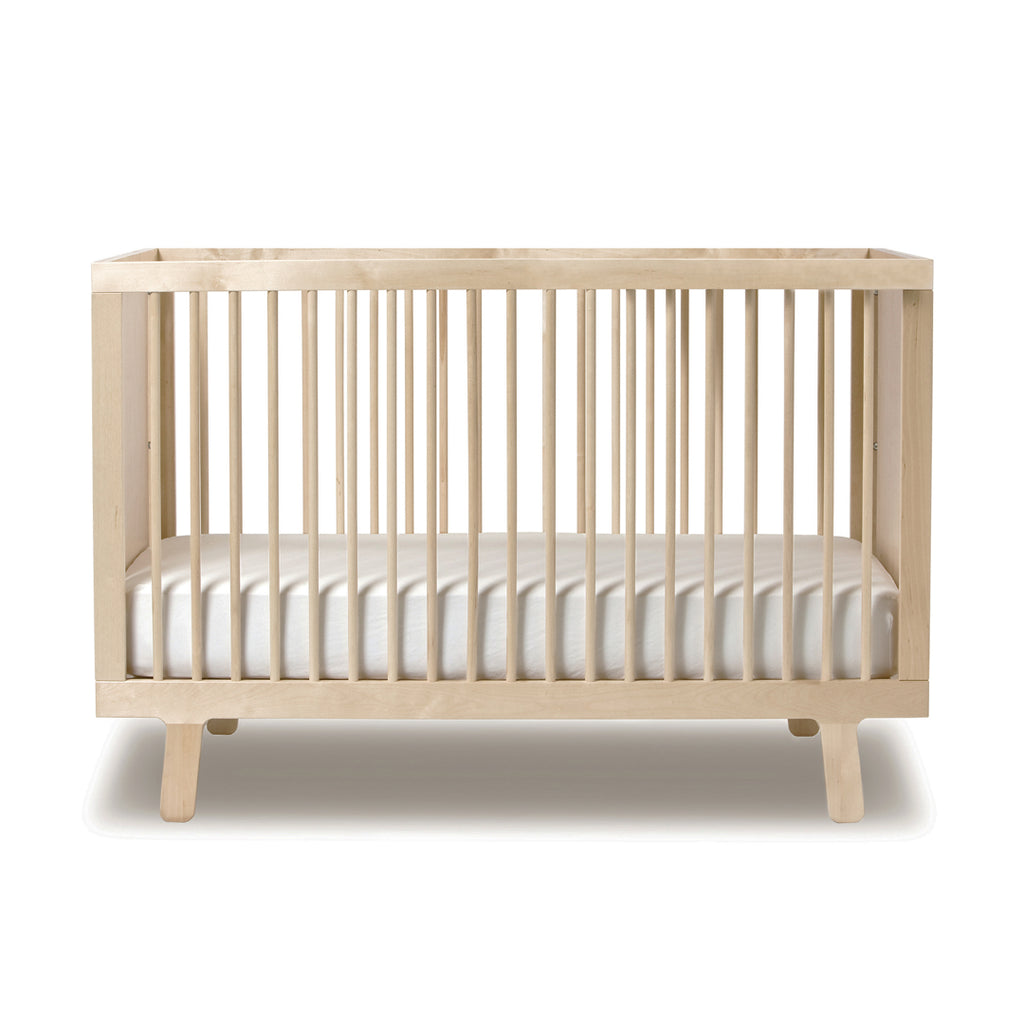 Oeuf Sparrow baby cot - natural birch