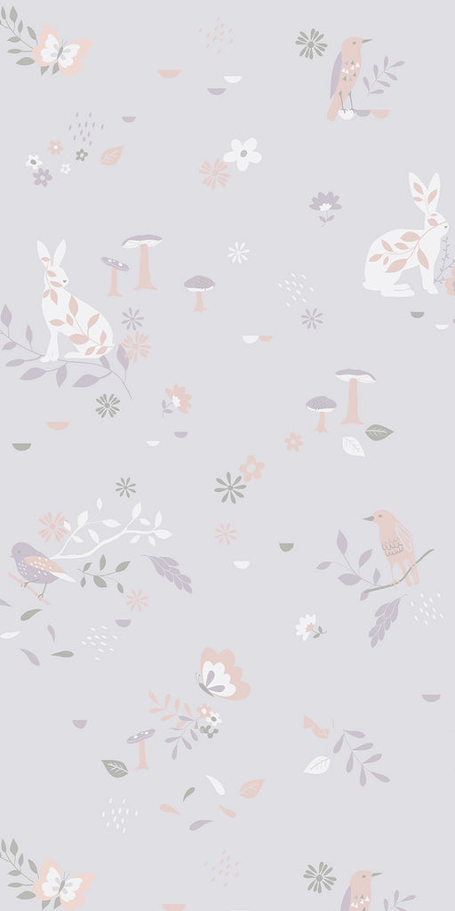 Secret Garden wallpaper for Nursery or Kid's Room