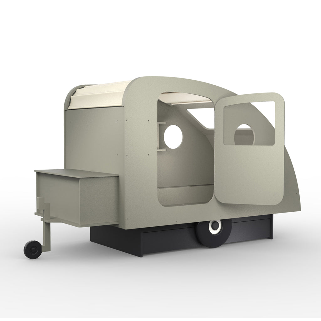 Caravan Bed Grey - Mathy by Bols