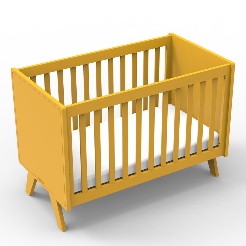 Mathy By Bols baby cot - Mustard Yellow