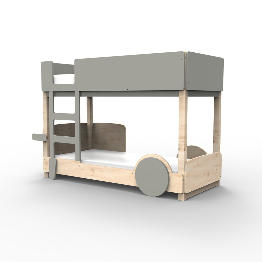 Discovery Bunk Bed Grey - Mathy By Bols