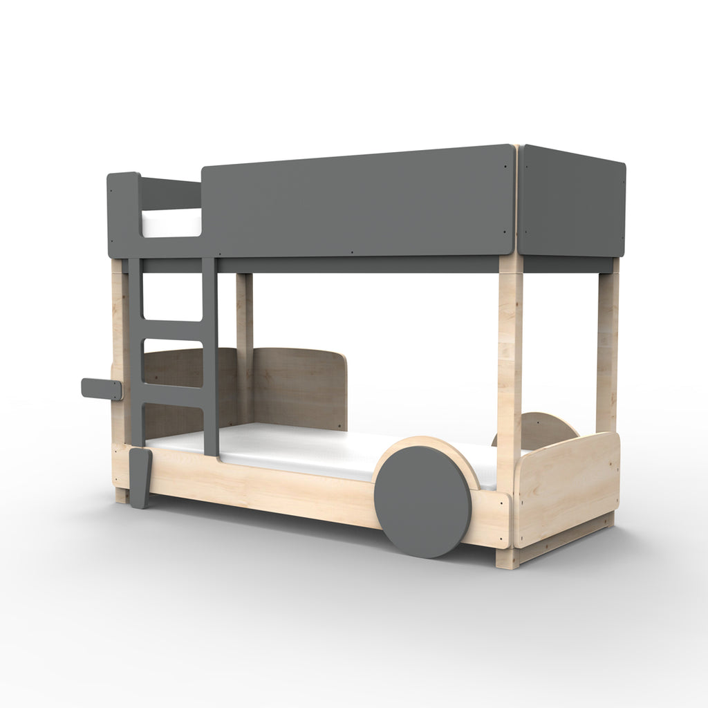Discovery Bunk Bed Dark Grey - Mathy By Bols