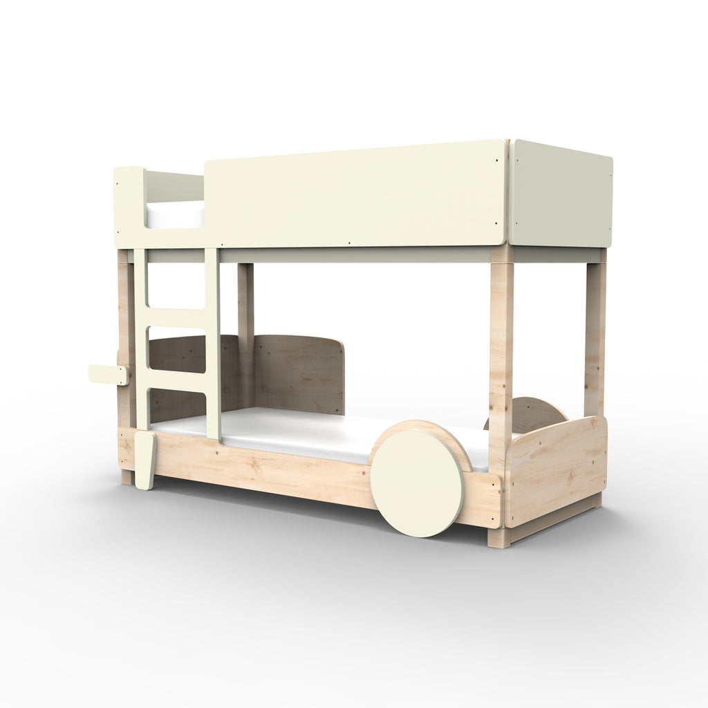 Discovery Bunk Bed Off White - Mathy By Bols