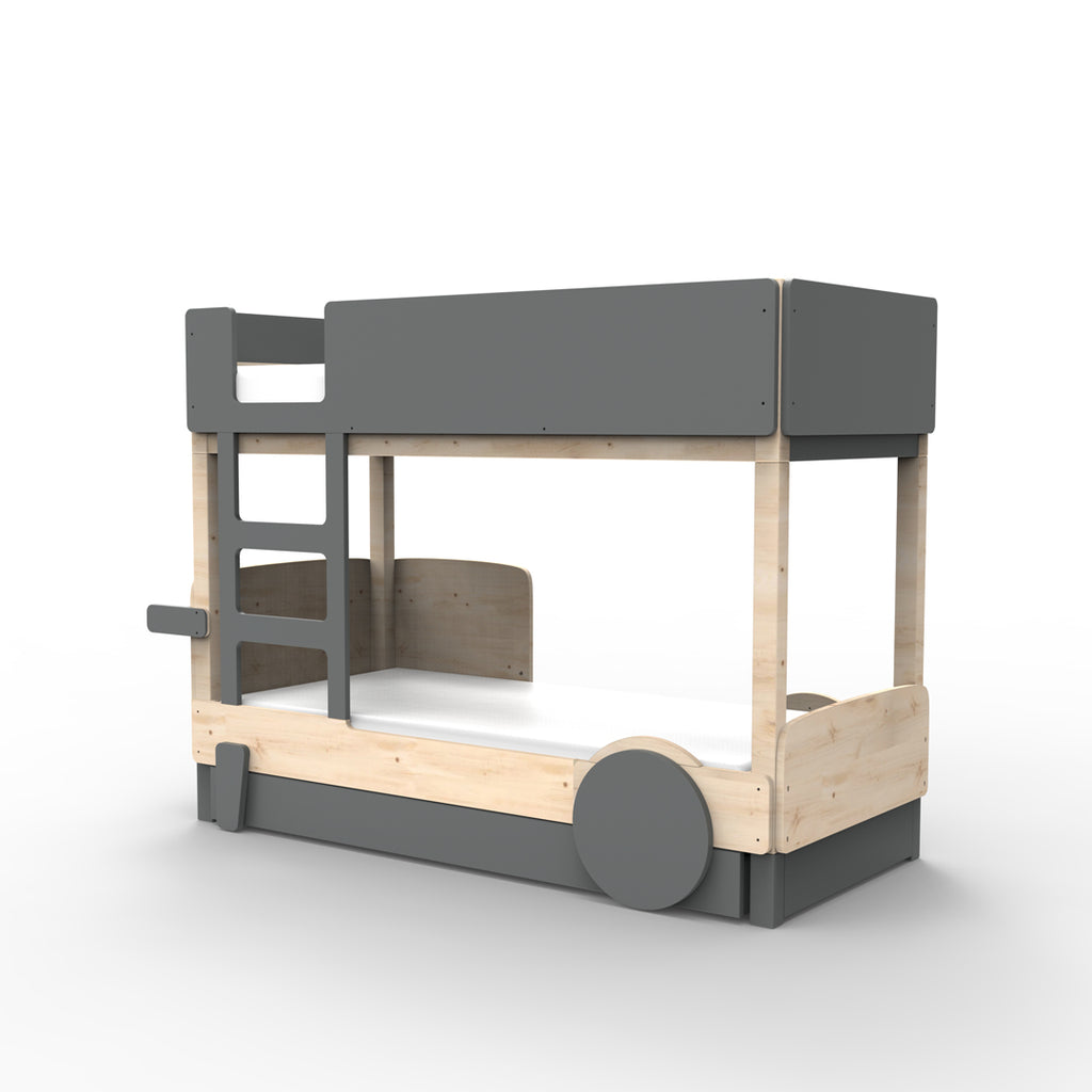 Discovery Bunk Bed Drawer Dark Grey - Mathy by Bols