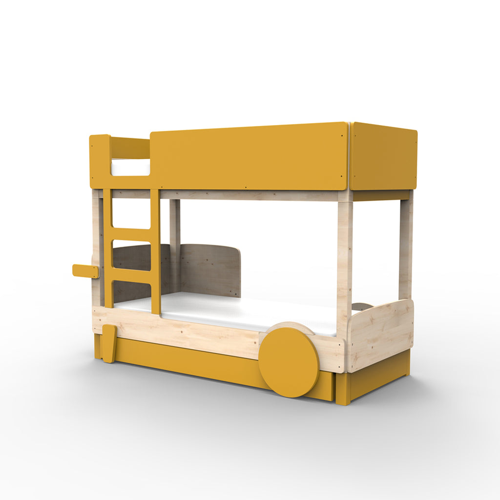 Discovery Bunk Bed Drawer Mustard - Mathy by Bols